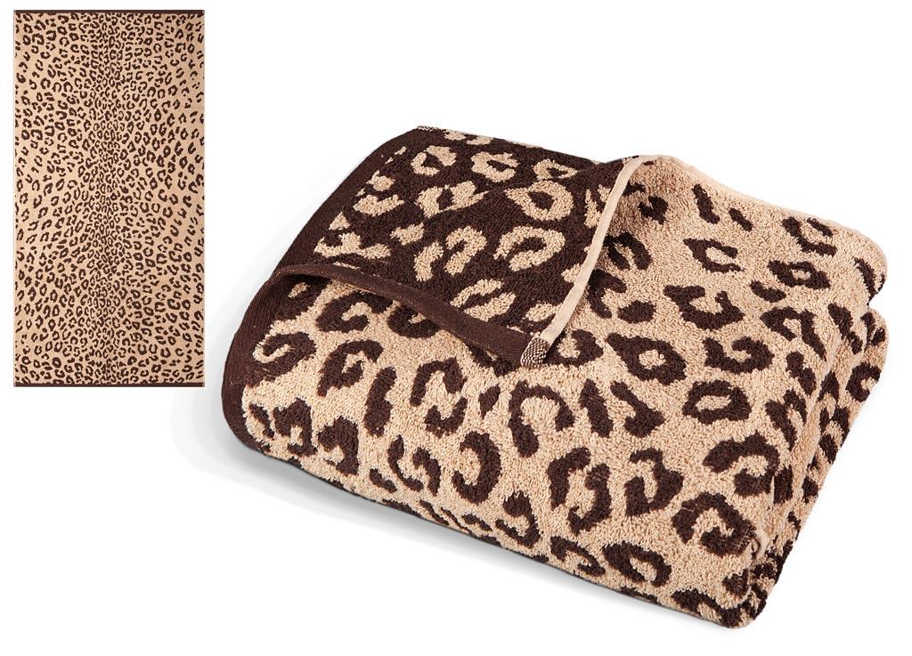 Полотенце Soavita Premium. Леопард, цвет: бежевый, коричневый, 65 х 130 см391602Махровое полотенце Soavita Premium. Леопард выполнено из хлопка. Полотенца используются для протирки различных поверхностей, также широко применяются в быту.Перед использованием постирать при температуре не выше 40 градусов.Размер полотенца: 65 х 130 см.