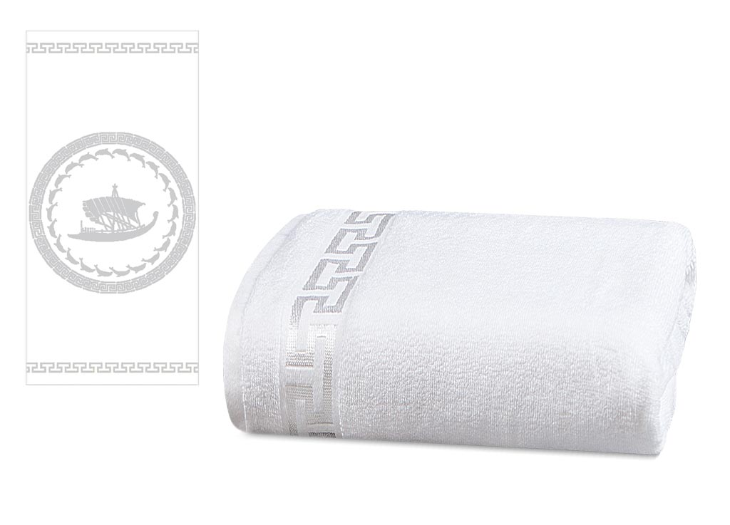 Полотенце Soavita Premium. Триера, цвет: белый, 65 х 130 смC0042416Махровое полотенце Soavita Premium. Триера выполнено из хлопка. Полотенца используются для протирки различных поверхностей, также широко применяются в быту.Перед использованием постирать при температуре не выше 40 градусов.Размер полотенца: 65 х 130 см.