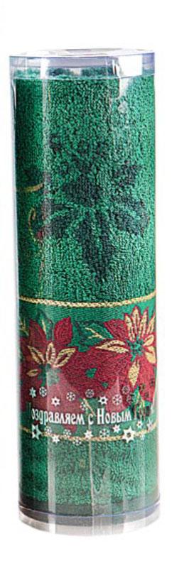 Полотенце Soavita Flower, цвет: зеленый, 45 х 90 см4974Махровое полотенце Soavita Flower выполнено из хлопка. Полотенца используются для протирки различных поверхностей, также широко применяются в быту.Такой набор станет отличным вариантом для практичной и современной хозяйки.Махровое полотно создается из хлопковых нитей, которые, в свою очередь, прядутся из множества хлопковых волокон. Чем длиннее эти волокна, тем прочнее будет нить, и, соответственно, изделие. Длина составляющих хлопковую нить волокон влияет и на фактуру получаемой ткани: чем они длиннее, тем мягче и пушистее получится махровое изделие, тем лучше будет впитывать изделие воду. Хотя на впитывающие качество махры - ее гигроскопичность, не в последнюю очередь влияет состав волокна. Мягкая махровая ткань отлично впитывает влагу и быстро сохнет.Размер полотенца: 45 х 90 см.