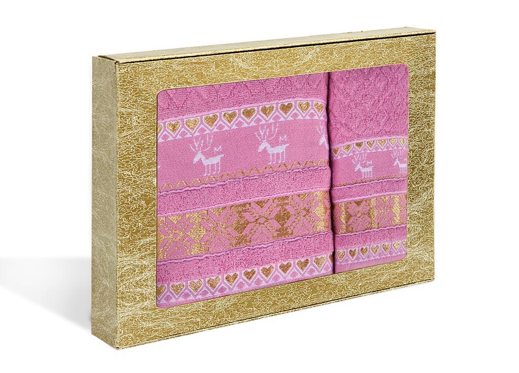 Набор махровых полотенец Soavita Marco, цвет: розовый, 2 шт1004900000360Махровое полотно создается из хлопковых нитей, которые, в свою очередь, прядутся из множества хлопковых волокон. Чем длиннее эти волокна, тем прочнее будет нить, и, соответственно, изделие. Длина составляющих хлопковую нить волокон влияет и на фактуру получаемой ткани: чем они длиннее, тем мягче и пушистее получится махровое изделие, тем лучше будет впитывать изделие воду. Хотя на впитывающие качество махры – ее гигроскопичность, не в последнюю очередь влияет состав волокна. Мягкая махровая ткань отлично впитывает влагу и быстро сохнет.