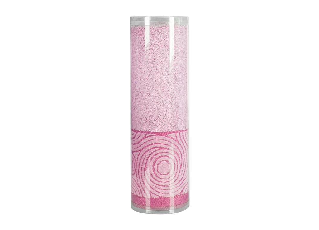 Полотенце махровое Soavita Eo. Поэма, цвет: розовый, 70 х 140 см531-105Махровое полотно создается из хлопковых нитей, которые, в свою очередь, прядутся из множества хлопковых волокон. Чем длиннее эти волокна, тем прочнее будет нить, и, соответственно, изделие. Длина составляющих хлопковую нить волокон влияет и на фактуру получаемой ткани: чем они длиннее, тем мягче и пушистее получится махровое изделие, тем лучше будет впитывать изделие воду. Хотя на впитывающие качество махры – ее гигроскопичность, не в последнюю очередь влияет состав волокна. Мягкая махровая ткань отлично впитывает влагу и быстро сохнет. Soavita – это популярный бренд домашнего текстиля. Дизайнерская студия этой фирмы находится во Флоренции, Италия. Производство перенесено в Китай, чтобы сделать продукцию более доступной для покупателей. Таким образом, вы имеете возможность покупать продукцию европейского качества совсем не дорого. Домашний текстиль прослужит вам долго: все детали качественно прошиты, ткани очень плотные, рисунок наносится безопасными для здоровья красителями, не линяет и держится много лет. Все изделия упакованы в подарочные упаковки.