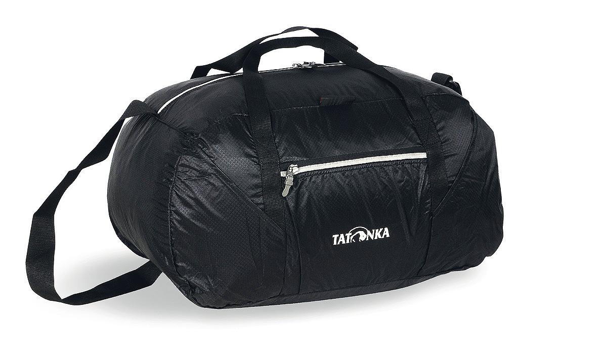Сумка складная Tatonka Squeezy Duffle S, цвет: черный, 30 лГризлиСумка Squeezy Duffle S - идеальный спутник в любом путешествии или походе за покупками. У сложенном виде сумка занимает минимум места (15x14x6 см). При необходимости ее легко разложить в объемную (30 литров) сумку.