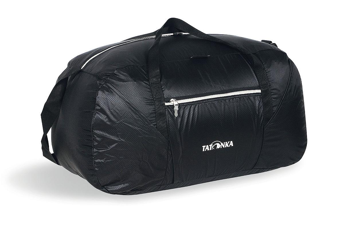 Сумка складная Tatonka Squeezy Duffle M, цвет: черный, 48 лMW-1462-01-SR серебристыйСумка Squeezy Duffle M - идеальный спутник в любом путешествии или походе за покупками. У сложенном виде сумка занимает минимум места (15x14x6 см). При необходимости ее легко разложить в объемную (48 литров) сумку.