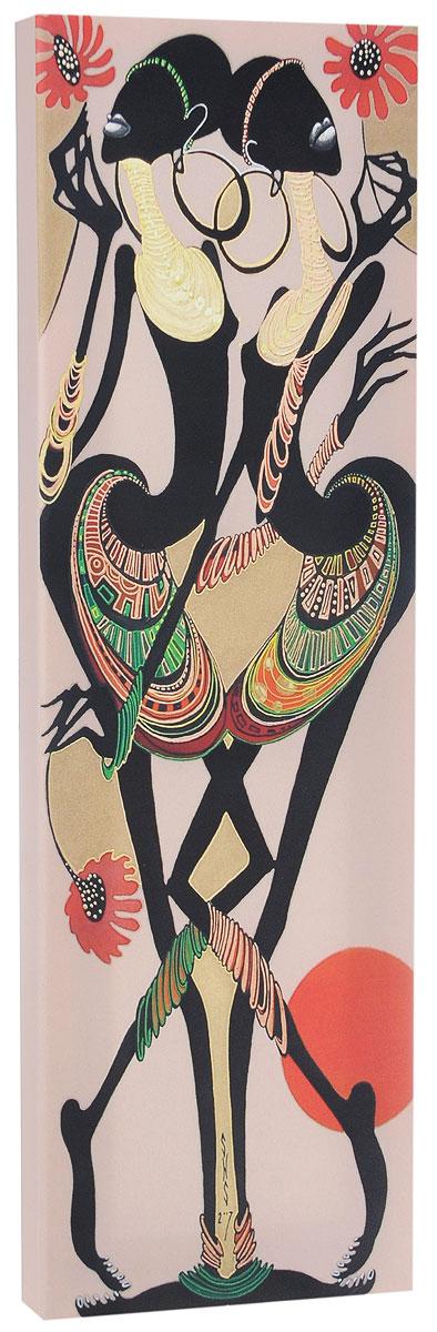КвикДекор Картина детская АфриканкиWS0388:360:254:050Картина КвикДекор Африканки - это прекрасное украшение для вашей гостиной, детской или спальни. Она привнесет в интерьер яркий акцент и сделает обстановку комфортной и уютной.Автор картины - Надежда Соколова - родилась в 1973 году в городе Дрездене. В 1986-1990 годах училась в Художественной школе города Новгорода. В 1995 году окончила с отличием рекламное отделение Новгородского училища культуры. В 2000 году защитила диплом на факультете Искусств и Технологий НовГУ имени Ярослава Мудрого. Выставляется с 1996 года. Работает в техниках: живопись, графика, батик, лаковая миниатюра, авторская кукла. Является автором оригинального стиля в миниатюре.Изделие представляет собой картину с латексной печатью на натуральном хлопчатобумажном холсте. Галерейная натяжка на деревянный подрамник выполнена очень аккуратно, а боковые части картины запечатаны тоновой заливкой. Обратная сторона подрамника содержит отверстие, благодаря которому картину можно легко закрепить на стене и подкорректировать ее положение.Картина Африканки станет отличным украшением любого помещения и прекрасным подарком близкому человеку!