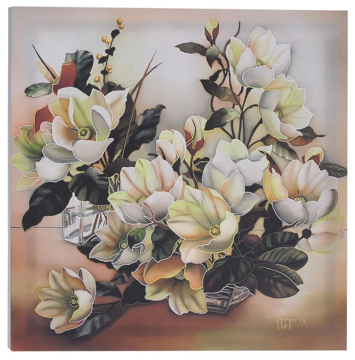 КвикДекор Картина детская МагнолииAP-00826-00042-Cn5050Картина КвикДекор Магнолии - это прекрасное украшение для вашей гостиной, детской или спальни. Она привнесет в интерьер яркий акцент и сделает обстановку комфортной и уютной.Автор картины - Надежда Соколова - родилась в 1973 году в городе Дрездене. В 1986-1990 годах училась в Художественной школе города Новгорода. В 1995 году окончила с отличием рекламное отделение Новгородского училища культуры. В 2000 году защитила диплом на факультете Искусств и Технологий НовГУ имени Ярослава Мудрого. Выставляется с 1996 года. Работает в техниках: живопись, графика, батик, лаковая миниатюра, авторская кукла. Является автором оригинального стиля в миниатюре.Изделие представляет собой картину с латексной печатью на натуральном хлопчатобумажном холсте. Галерейная натяжка на деревянный подрамник выполнена очень аккуратно, а боковые части картины запечатаны тоновой заливкой. Обратная сторона подрамника содержит отверстие, благодаря которому картину можно легко закрепить на стене и подкорректировать ее положение.Картина Магнолии - вдохновляющее декоративное решение, привносящее в интерьер нотки творчества и изысканности!