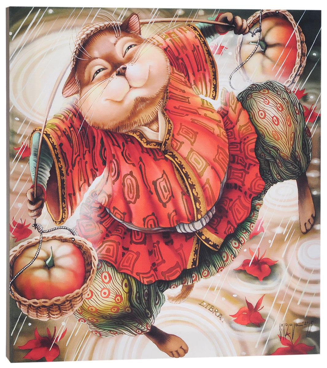 КвикДекор Картина детская ВесыAP-00874-00090-Cn5050Картина КвикДекор Весы - это прекрасное украшение для вашей гостиной, детской или спальни. Она привнесет в интерьер яркий акцент и сделает обстановку комфортной и уютной.Автор картины - Надежда Соколова - родилась в 1973 году в городе Дрездене. В 1986-1990 годах училась в Художественной школе города Новгорода. В 1995 году окончила с отличием рекламное отделение Новгородского училища культуры. В 2000 году защитила диплом на факультете Искусств и Технологий НовГУ имени Ярослава Мудрого. Выставляется с 1996 года. Работает в техниках: живопись, графика, батик, лаковая миниатюра, авторская кукла. Является автором оригинального стиля в миниатюре.Изделие представляет собой картину с латексной печатью на натуральном хлопчатобумажном холсте. Галерейная натяжка на деревянный подрамник выполнена очень аккуратно, а боковые части картины запечатаны тоновой заливкой. Обратная сторона подрамника содержит отверстие, благодаря которому картину можно легко закрепить на стене и подкорректировать ее положение.Картина Весы - это отличный подарок и эффектное интерьерное украшение.
