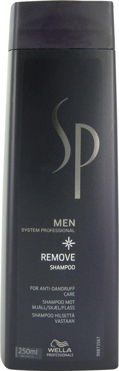 Wella SP Шампунь против перхоти Men Removing Shampoo, 250 млMP59.4DЭффективное средство от всех видов перхоти -Шампунь против перхоти Removing Shampoo от Wella. Регулярное использование шампуня в течение 4 недель обуславливает прекращение появления перхоти в течение 2 месяцев. Специальные активные моющие компоненты мягко воздействуют на структуру волос, качественно очищая их, не повреждая при этом, удаляют с кожи головы ороговевшие частицы, увлажшяющие компоненты предотвращают образование перхоти, нейтрализуют сухость и стянутость.