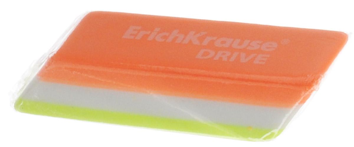 Erich Krause Ластик Drive цвет оранжевый салатовый белый35779_оранжевый, салатовый, белыйЛастик Erich Krause Drive станет незаменимым аксессуаром на рабочем столе не только школьника или студента, но и офисного работника.Ластик ярких цветов имеет форму прямоугольника со скошенными краями. При стирании стружка от ластика скатывается в единый комок, а не рассыпается по всей поверхности бумаги.