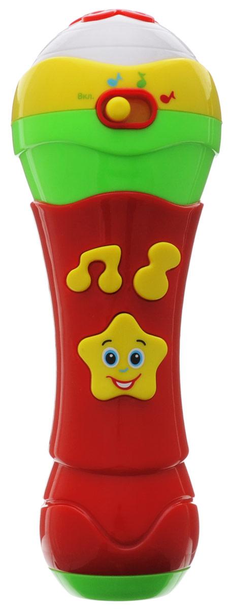 Умка Развивающая игрушка Микрофон умка развивающая игрушка фотоаппарат чебурашки
