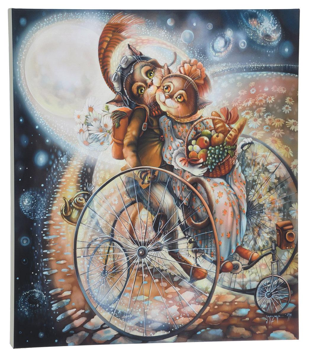 КвикДекор Картина детская Пикник на обочине1-A-151Картина КвикДекор Пикник на обочине художника Надежды Соколовой дополнит обстановку интерьера нежными красками и необычным оформлением.Изделие представляет собой картину с латексной печатью на натуральном хлопчатобумажном холсте. Галерейная натяжка на деревянный подрамник выполнена очень аккуратно, а боковые части картины запечатаны тоновой заливкой. Обратная сторона подрамника содержит отверстие, благодаря которому картину можно легко закрепить на стене и подкорректировать ее положение.Автор картины Надежда Соколова родилась в 1973 году в городе Дрездене. В 1986-90 годах училась в Художественной школе города Новгорода. В 1995 году окончила с отличием рекламное отделение Новгородского училища культуры. В 2000 году защитила диплом на факультете Искусств и Технологий НовГУ имени Ярослава Мудрого. Выставляется с 1996 года. Работает в техниках: живопись, графика, батик, лаковая миниатюра, авторская кукла. Является автором оригинального стиля в миниатюре.Картина КвикДекор Пикник на обочине - вдохновляющее декоративное решение, привносящее в интерьер нотки творчества и изысканности!
