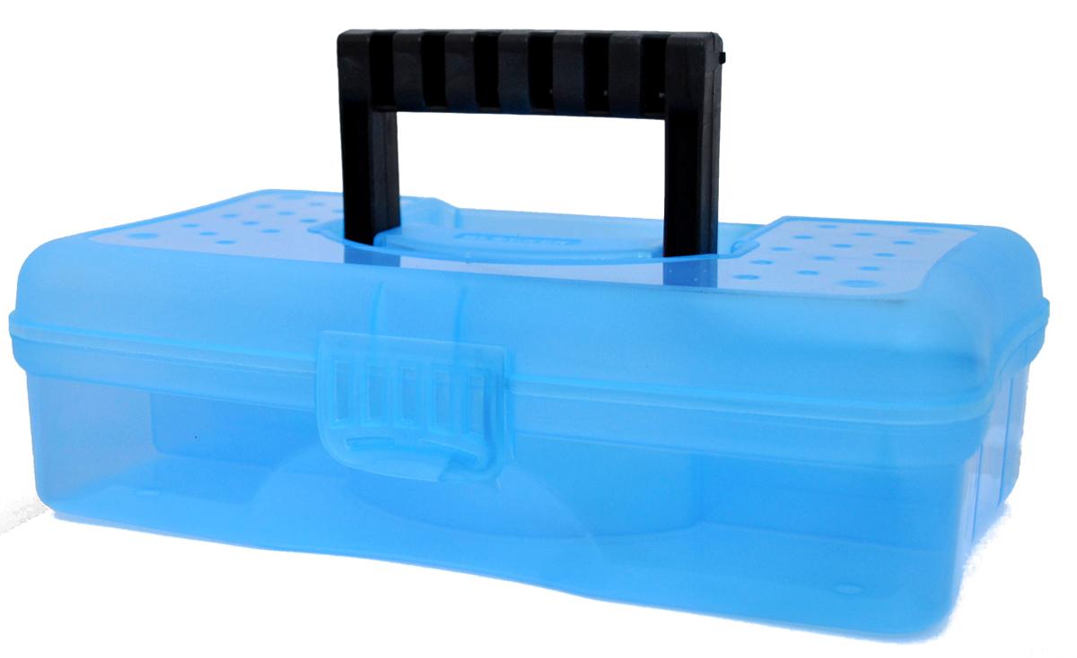 Органайзер Blocker Hobby Box, цвет: синий, 29,5 х 18 х 9 см10503Органайзер Blocker Hobby Box изготовлен из высококачественного прочного пластика. Изделие предназначено для хранения и переноски небольших инструментов, рыболовных принадлежностей, различных мелочей. Оснащен 6 секциями. Надежно закрывается при помощи пластмассовой защелки. На крышке имеется ручка для удобной переноски изделия.Размер самой большой секции: 29 х 8 х 6 см.Размер самой маленькой секции: 8 х 4,5 х 6 см.
