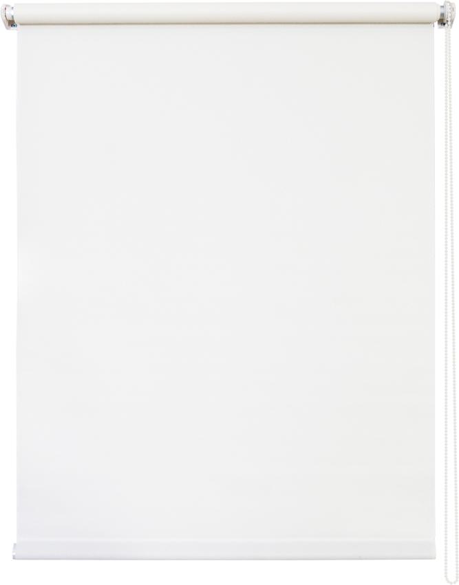Штора рулонная Уют Плайн, цвет: белый, 80 х 175 см1004900000360Штора рулонная Уют Плайн выполнена из прочного полиэстера с обработкой специальным составом, отталкивающим пыль. Ткань не выцветает, обладает отличной цветоустойчивостью и светонепроницаемостью.Штора закрывает не весь оконный проем, а непосредственно само стекло и может фиксироваться в любом положении. Она быстро убирается и надежно защищает от посторонних взглядов. Компактность помогает сэкономить пространство. Универсальная конструкция позволяет крепить штору на раму без сверления, также можно монтировать на стену, потолок, створки, в проем, ниши, на деревянные или пластиковые рамы. В комплект входят регулируемые установочные кронштейны и набор для боковой фиксации шторы. Возможна установка с управлением цепочкой как справа, так и слева. Изделие при желании можно самостоятельно уменьшить. Такая штора станет прекрасным элементом декора окна и гармонично впишется в интерьер любого помещения.