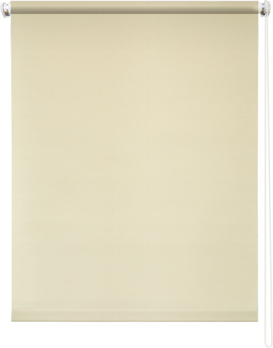 Штора рулонная Уют Плайн, цвет: кремовый, 50 х 175 см62.РШТО.7505.050х175Штора рулонная Уют Плайн выполнена из прочного полиэстера с обработкой специальным составом, отталкивающим пыль. Ткань не выцветает, обладает отличной цветоустойчивостью и светонепроницаемостью.Штора закрывает не весь оконный проем, а непосредственно само стекло и может фиксироваться в любом положении. Она быстро убирается и надежно защищает от посторонних взглядов. Компактность помогает сэкономить пространство. Универсальная конструкция позволяет крепить штору на раму без сверления, также можно монтировать на стену, потолок, створки, в проем, ниши, на деревянные или пластиковые рамы. В комплект входят регулируемые установочные кронштейны и набор для боковой фиксации шторы. Возможна установка с управлением цепочкой как справа, так и слева. Изделие при желании можно самостоятельно уменьшить. Такая штора станет прекрасным элементом декора окна и гармонично впишется в интерьер любого помещения.