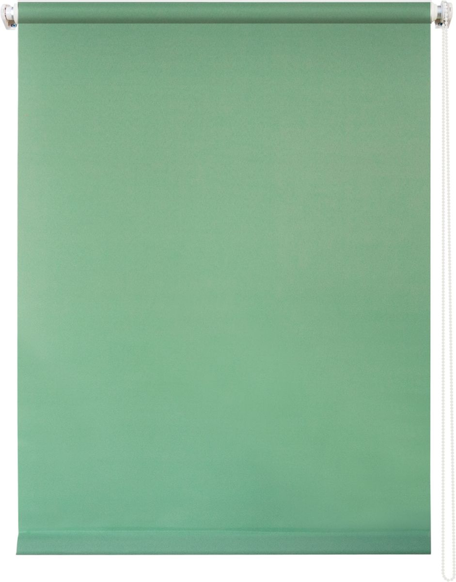 Штора рулонная Уют Плайн, цвет: светло-зеленый, 100 х 175 см62.РШТО.7513.100х175Штора рулонная Уют Плайн выполнена из прочного полиэстера с обработкой специальным составом, отталкивающим пыль. Ткань не выцветает, обладает отличной цветоустойчивостью и светонепроницаемостью.Штора закрывает не весь оконный проем, а непосредственно само стекло и может фиксироваться в любом положении. Она быстро убирается и надежно защищает от посторонних взглядов. Компактность помогает сэкономить пространство. Универсальная конструкция позволяет крепить штору на раму без сверления, также можно монтировать на стену, потолок, створки, в проем, ниши, на деревянные или пластиковые рамы. В комплект входят регулируемые установочные кронштейны и набор для боковой фиксации шторы. Возможна установка с управлением цепочкой как справа, так и слева. Изделие при желании можно самостоятельно уменьшить. Такая штора станет прекрасным элементом декора окна и гармонично впишется в интерьер любого помещения.