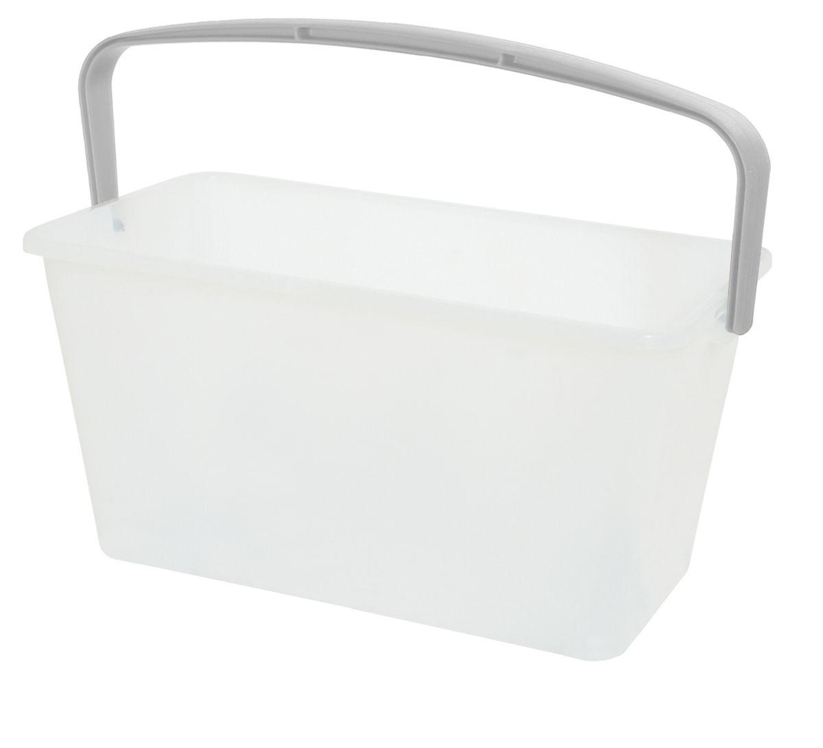 Ведро Apex, 13лK100Прямоугольное ведро Apex изготовлено из пластика. Оно легче железного и не подвержено коррозии. Ведро имеет привлекательный дизайн. Для удобства использования ведро оснащено пластиковой ручкой и мерной шкалой. Характеристики: Материал: пластик. Размер: 42 см х 21 см х 22 см. Объем: 12 л. Производитель: Италия. Артикул: 10360.