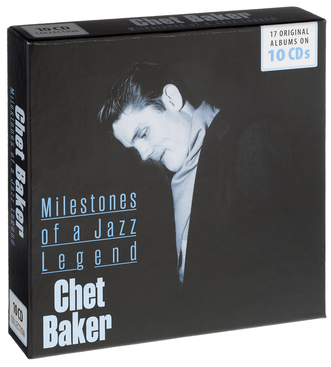 Чет Бейкер Milestones Of Jazz Legend. Chet Baker (10 CD) indian version of k abc