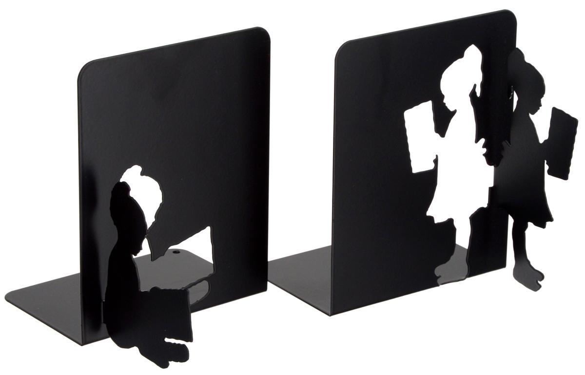 """Подставка-ограничитель декоративная для книг Феникс-Презент """"В библиотеке"""", 2 шт"""