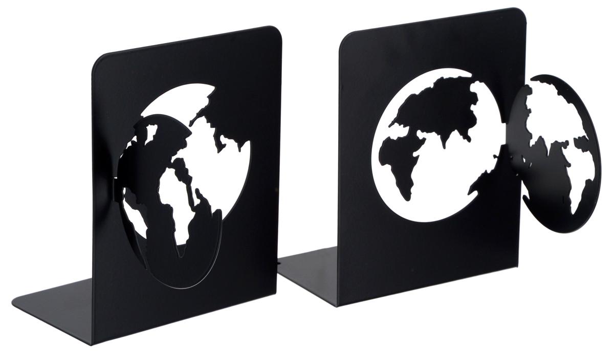 Подставка-ограничитель декоративная для книг Феникс-Презент Планета, 2 шт54 009312Декоративная подставка-ограничитель Феникс-Презент Планета, изготовленная из металла, состоит из двух частей, с помощью которых можно подпирать книги с двух сторон. Изделия оформлены декоративными фигурками в виде планеты и снабжены противоскользящими подложками из этиленвинилацетата. Между ограничителями можно поместить неограниченное количество книг. Подставка-ограничитель для книг Феникс-Презент Планета - это не только подставка, но и интересный элемент декора, который ярко дополнит интерьер помещения. Размер одной части подставки-ограничителя: 17 х 12 х 15 см.Комплектация: 2 шт.