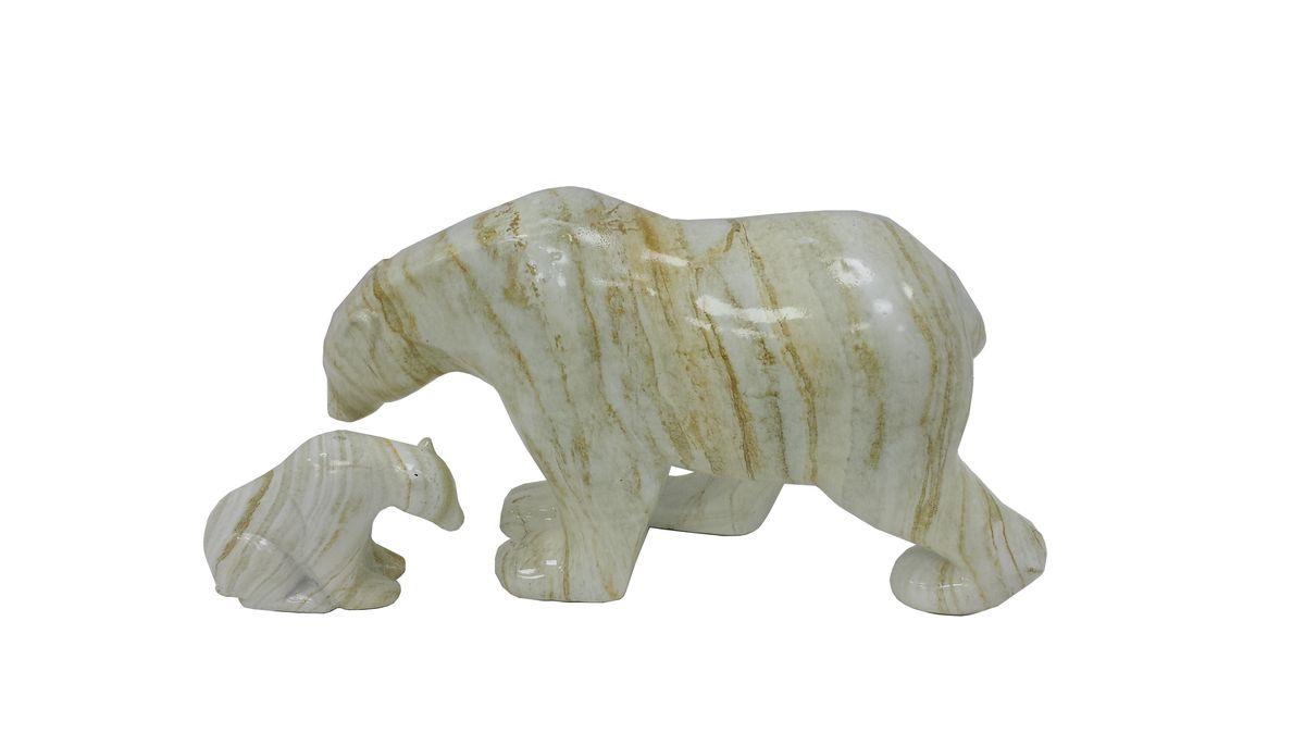Декоративная фигурка Proffi Home Медведь, из искусственного камня, цвет: светло-бежевый. PH6139THN132NЛюбое помещение выглядит незавершенным без правильно расположенных предметов интерьера. Декоративная фигура из искусственного камня помогут создать уют, расставить акценты, подчеркнуть достоинства, скрыть недостатки.
