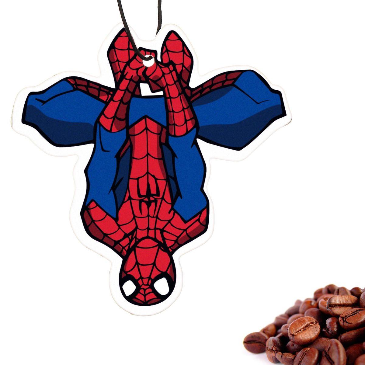 Ароматизатор автомобильный Marvel Spiderman 4. Заряд бодрости, 8,9 х 15,9 см1149013Яркость в серые городские будни и скучную езду по пробкам добавит ароматизатор Marvel Spiderman 4. Заряд бодрости. В нем сочетаются эксклюзивный дизайн и приятный аромат. Если у вас нет автомобиля - не беда! Повесьте ароматизатор дома или на работе и наслаждайтесь чудесным благоуханием.