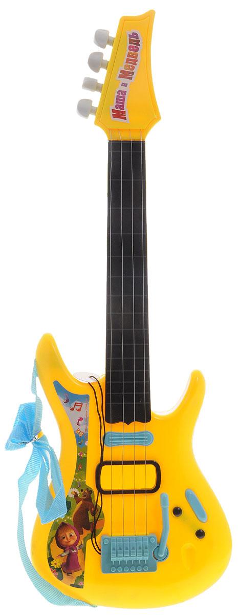 Играем вместе Гитара Маша и Медведь цвет желтый