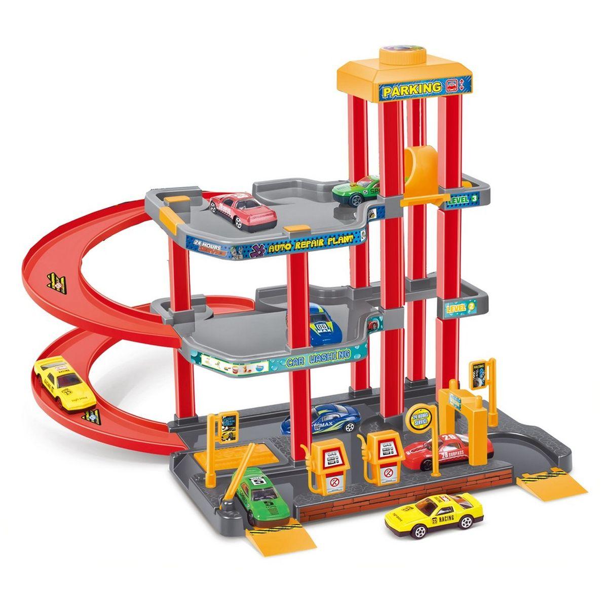 Dave Toy Игровой набор Парковка 32030