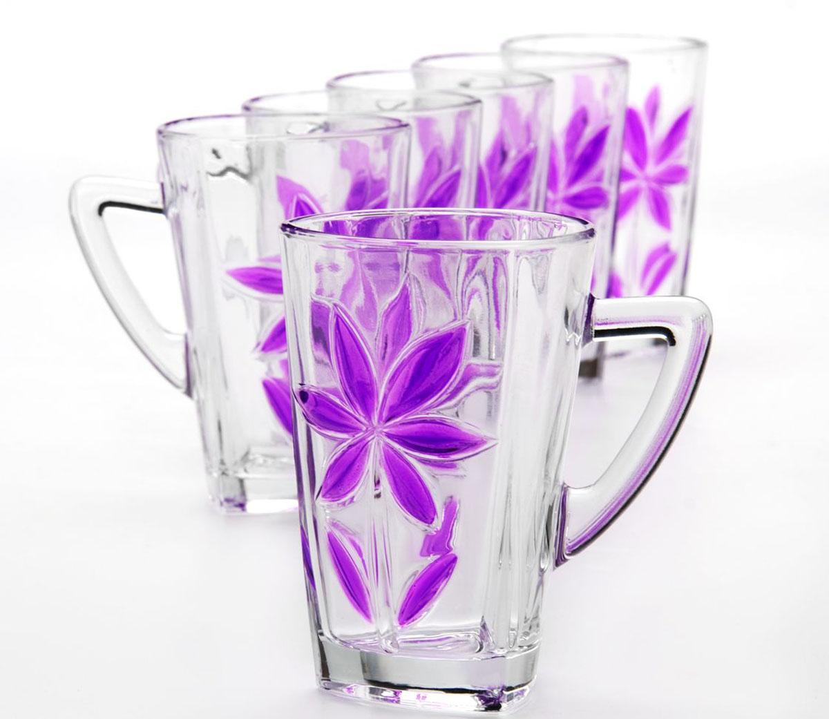 Набор стаканов Mayer & Boch, 255 мл, 6 штVT-1520(SR)Набор, состоящий из шести стаканов, несомненно, придется вам по душе. Стаканы выполнены из высококачественного стекла в мягких тонах с оригинальным цветочным узором. Благодаря такому набору пить напитки будет еще вкуснее. Набор стаканов Loraine станет также отличным подарком на любой праздник. Подходит для горячих и холодных напитков.