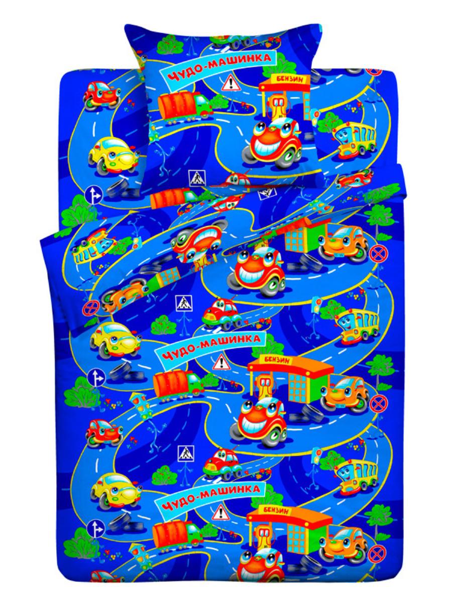 Letto Комплект детского постельного белья Чудо-машинка5292Комплект детского постельного белья Чудо-машинка от Letto - это веселые детские и подростковые дизайны, в хлопковом исполнении с хорошими устойчивыми красителями и все это по очень доступной цене! Такое белье прослужит долго и выдержит много стирок. Рисунок на наволочке может отличаться от представленного на фото.
