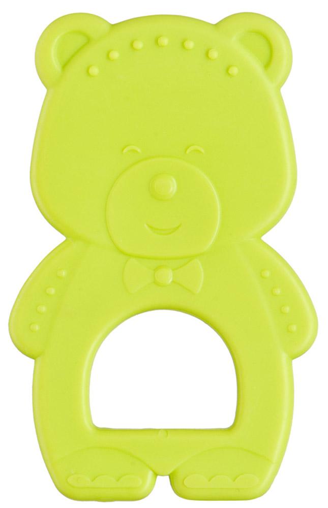 Happy Baby Прорезыватель Мишка цвет салатовый