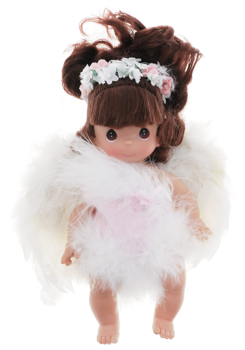 Precious Moments Мини-кукла Ангелочек брюнетка precious moments мини кукла бабочка цвет наряда розовый сиреневый