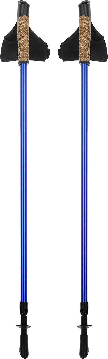 Палки для скандинавской ходьбы, телескопические, длина 80-135 см, 2 шт. FT138WRA515701Телескопические палки для скандинавской ходьбы с системой секционной блокировки, разработанной по цанговому принципу. Подходят как для продвинутых спортсменов, так и для начинающих. Рукоять снабжена эргономичным регулируемым темляком. При весе всего в 220 г используется легкий, упругий и самый прочный металл. Палки состоят из 2 секций. В нижней секции расположена метрическая разметка для быстрой и точной регулировки длины под рост. Съемный наконечник из полимерного материала, для высокого сцепления. Используются только не токсичные краски. Под наконечником расположен шип.Технологии:Метал.Идеально отполированные детали.80-135 - шаблон моделирования высоты, универсальный рост.Эргономичный темляк для скандинавской ходьбы.Надежная и удобная система секционной блокировки, основанная на цанговом принципе.Пластиковые детали от ведущего производителя.Комплектация:Палки телескопические для скандинавской ходьбы - 1 пара.