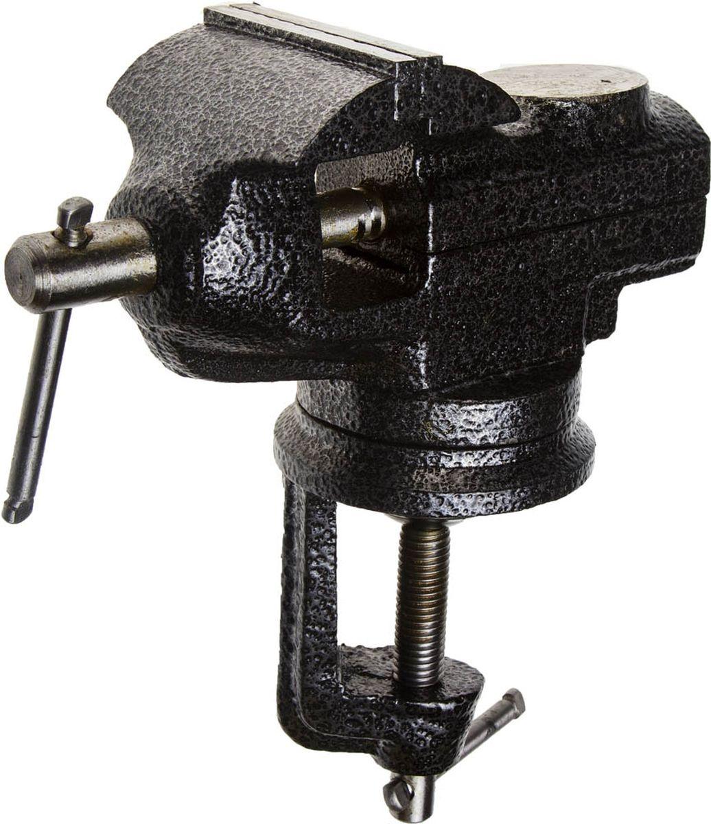 Тиски Stayer Profi, с поворотным механизмом, 60 мм98298130Тиски Stayer Profi предназначены для зажима деталей (изделий) в положении, обеспечивающем удобство при их обработке (сборке). Губки рельефные. Тиски оснащены встроенной струбциной для крепления к верстаку и наковальней для небольших слесарных работ. Корпус изделия окрашенный.Ширина губок: 6 см.