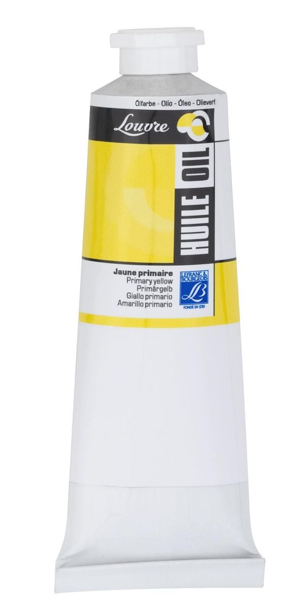 Масляная краска Lefranc & Bourgeois Louvre, цвет: 153 Желтый основной, 60 млMDL4357Художественные акриловые краски Louvre - это высококачественная краска. Подходит для работы по холсту, бумаге, картону ,дереву. Идеально смешиваются между собой, при этом получается чистый цвет, благодаря высокой концентрации пигмента. Водорастворимы.
