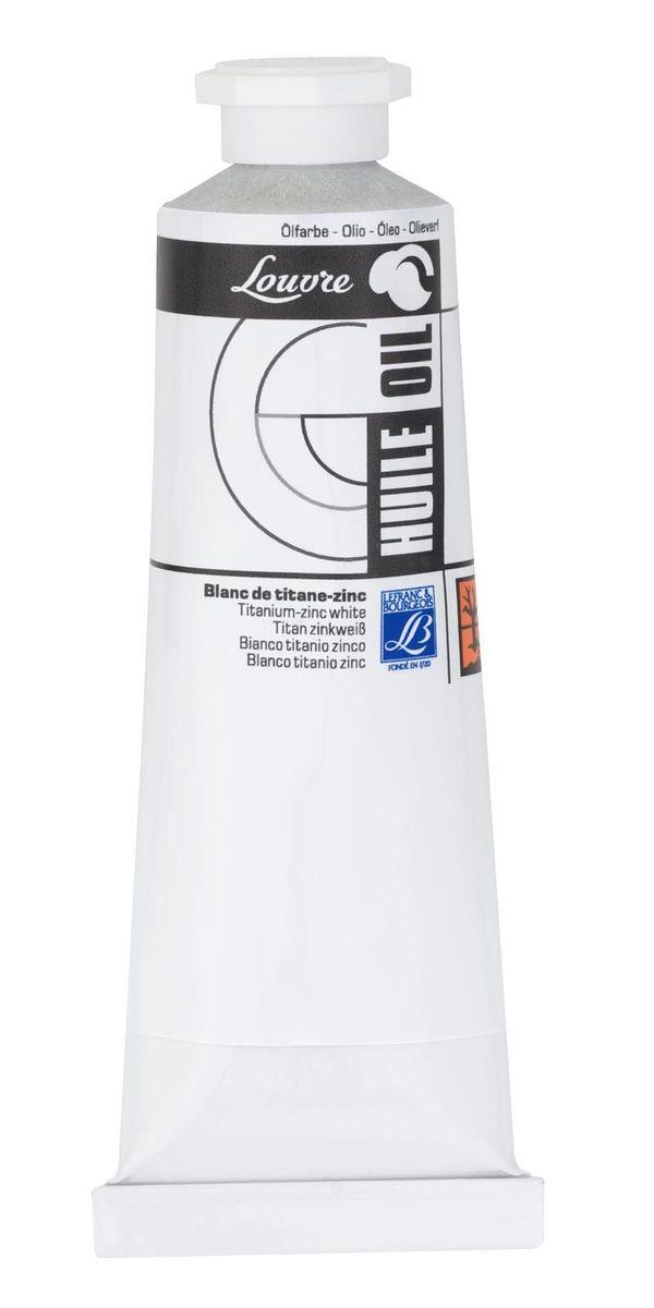 Масляная краска Lefranc & Bourgeois Louvre, цвет: 013 Белый цинк, 60 мл