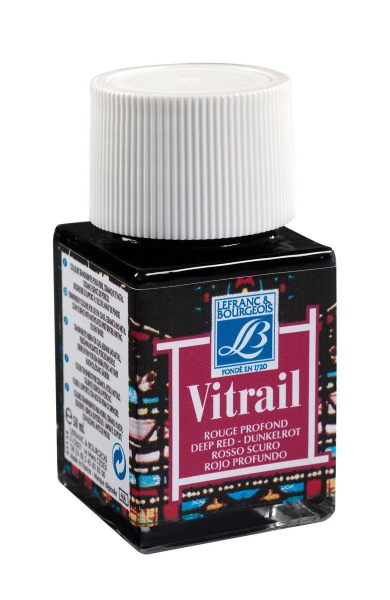 Краска по стеклу Lefranc & Bourgeois Vetrail, 50 мл, цвет: 466 Насыщенный красный. LF211584540354Краски Vitrail густые, прозрачные, взаимосмешиваемые. При нанесении образуют ровный глянцевый слой, не образуют подтеков и не мутнеют после высыхания. Краски для стекла Vitrail представлены в ассортименте из 18 ярких глянцевых цветов в стеклянных баночках по 50 мл. Эти краски идеально походят для создания витражей и декорирования.