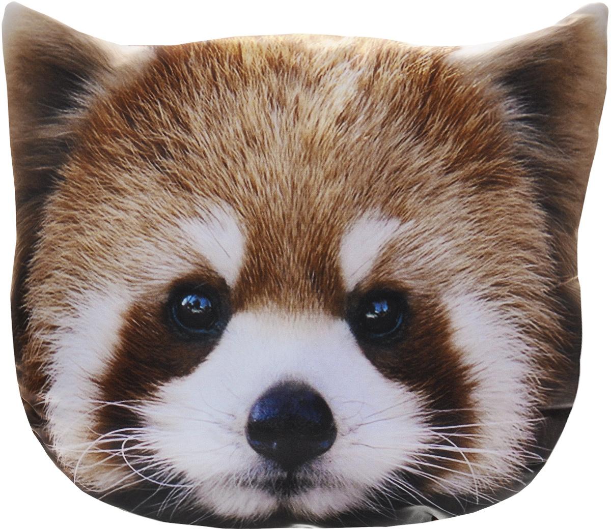 Подушка декоративная GiftnHome Красная панда, 40 х 40 cмSVC-300Декоративная подушка GiftnHome Красная панда - это яркое украшение вашего дома. Чехол выполнен из гладкого и приятного на ощупь атласа (искусственного шелка). Лицевая сторона украшена красочным изображением. Чехол застегивается на молнию. Внутренний наполнитель подушки - холлофайбер. Красивая подушка создаст в доме уют и станет прекрасным элементом декора.