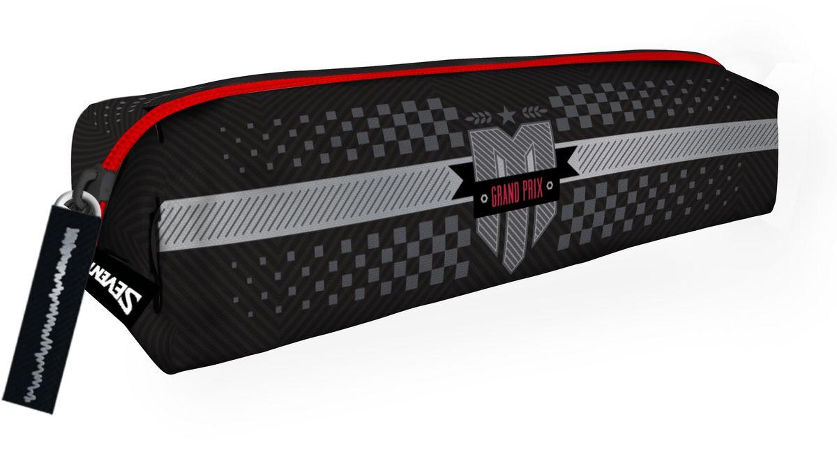 Seventeen Пенал Moto GP72523WDПенал Seventeen Moto GP поможет содержать в порядке массу необходимых мелочей.Модель на застежке-молнии отличается оригинальным дизайном и хорошим качеством используемых материалов. Выполнен из высокопрочного износостойкого материала и содержит одно отделение с подкладкой. На одной из боковых частей есть вшитый материал для того, чтобы поддерживать пенал во время его застегивания и расстегивания.Стильный принт поднимет настроение владельцу пенала.