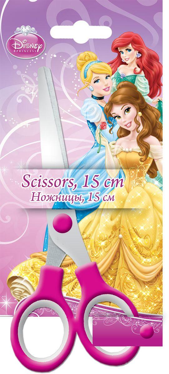 Disney Princess Ножницы 15 смFS-54115Ножницы Disney Princess с безопасными закругленными концами лезвий идеально подойдут для резки всех обычных материалов - бумаги, картона и ткани.Прочность и качественная заточка обеспечивают эффективную работу лезвий по всей длине. Эргономично разработанные ручки очень удобны для захвата. Стальные лезвия плотно прилегают друг к другу. На лезвии имеется гравировка в виде надписи Disney Princess.Не рекомендуется детям до 3-х лет.