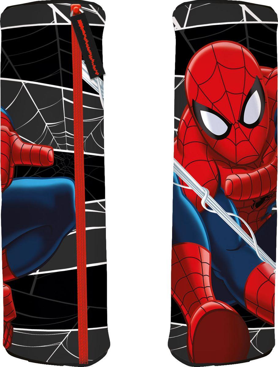 Spider-Man Пенал Classic72523WDСтильный пенал-тубус Spider-Man Classic станет для ребенка незаменимым спутником в школе.Модель на застежке-молнии отличается оригинальным дизайном и хорошим качеством используемых материалов. Выполнен из высокопрочного полиэстера и содержит одно отделение. Имеется тесемочная петля на торце для удобства переноса. Принт с Человеком-пауком непременно понравится поклоннику супергероя.