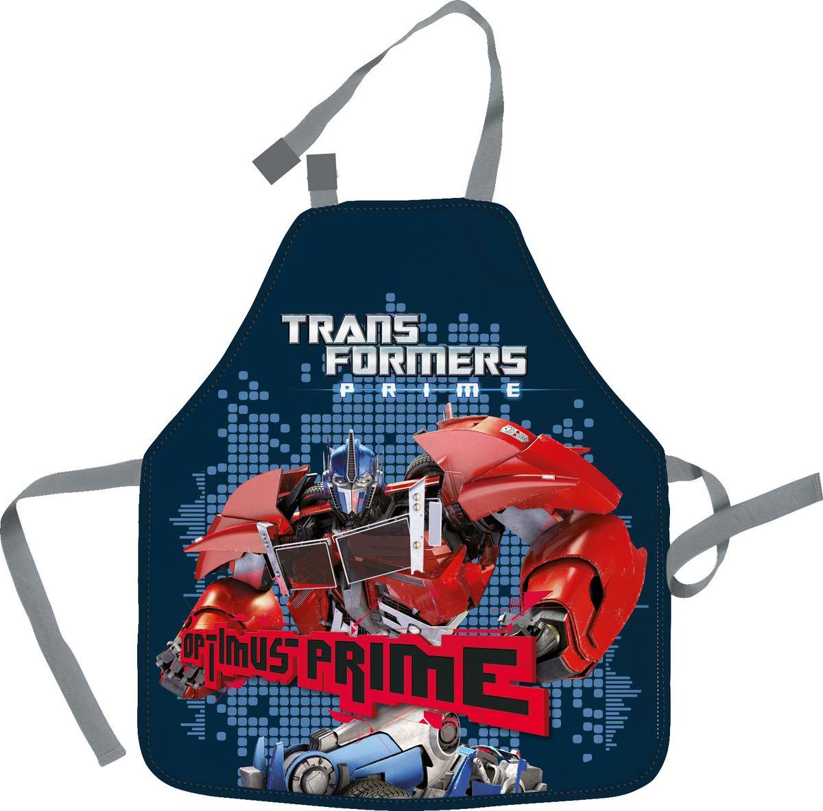 Transformers Фартук для труда Optimus Prime72523WDФартук Transformers Optimus Prime поможет вашему ребенку не испачкать свою одежду во время занятий творчеством и на уроках труда. Изделие изготовлено из водостойкого материала. Удобные завязки помогут зафиксировать фартук на шее и талии в нужных положениях.