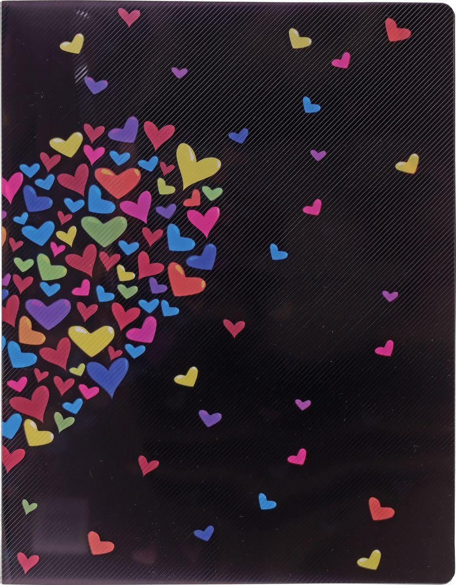 Centrum Папка на двух кольцах СердцеC13S041944Папка Centrum Сердце на двух кольцах с закругленными уголками - это удобный и практичный офисный инструмент, предназначенный для хранения и транспортировки рабочих бумаг и документов формата А4.Папка изготовлена из непрозрачного плотного пластика и имеет прочные металлические кольца, которые надежно закрепят документы на месте.Папка Сentrum - это незаменимый атрибут для студента, школьника, офисного работника. Такая папка надежно сохранит ваши документы и сбережет их от повреждений, пыли и влаги.