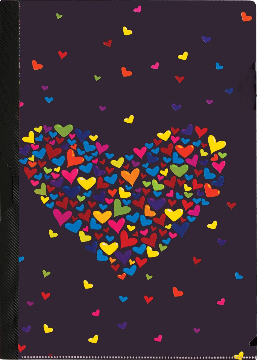 Centrum Папка с клипом СердцеC13S041944Папка с клипом Centrum Сердце станет вашим верным помощником дома и в офисе. Это удобный и функциональный инструмент, предназначенный для хранения и транспортировки рабочих бумаг и документов формата А4.Папка изготовлена из прочного высококачественного пластика, оснащена боковым клипом, позволяющим фиксировать неперфорированные листы. Уголки имеют закругленную форму, что предотвращает их загибание и помогает надолго сохранить опрятный вид обложки. Папка оформлена рисунком в виде сердечек. Папка - это незаменимый атрибут для любого студента, школьника или офисного работника. Такая папка надежно сохранит ваши бумаги и сбережет их от повреждений, пыли и влаги.
