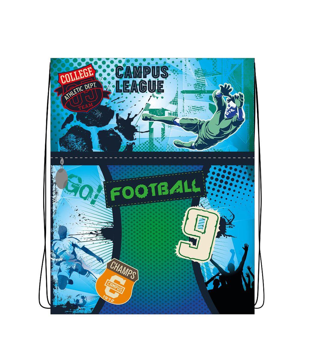 Centrum Сумка для сменной обуви Футбол87168Мешок для обуви Футбол, 1 отделение
