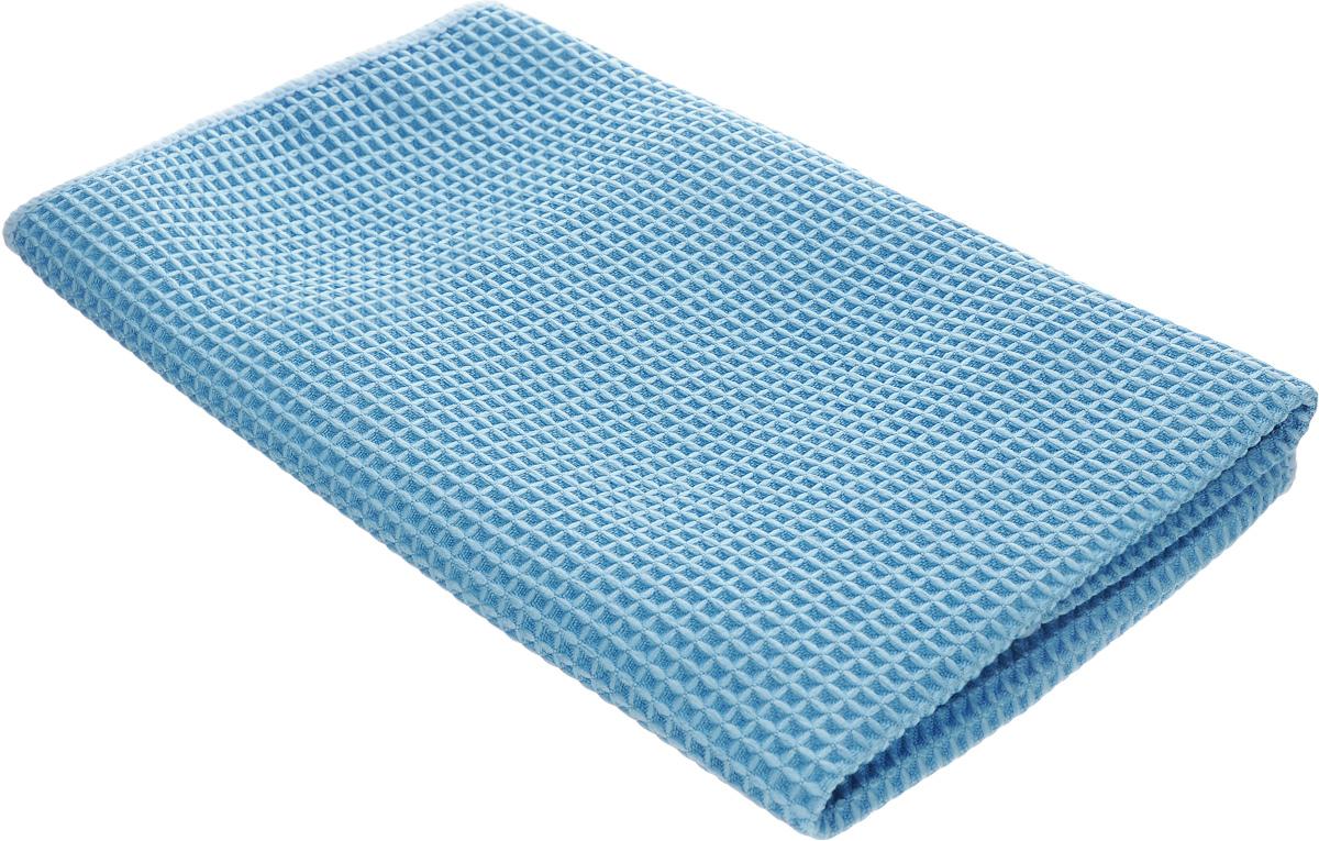 Салфетка для кухни Unicum Premium, цвет: синий, 40 х 40 см787502Салфетка Unicum Premium изготовлена по самым современным технологиям. Уникальные чистящие свойства салфетки - абсорбировать жир, грязь, пыль, никотин - обеспечивают специальные клиновидные микроволокна, которые в 100 раз меньше человеческого волоса. Салфетка обладает непревзойденной способностью быстро впитывать большой объем жидкости (в восемь раз больше собственной массы). Изделие подходит для вытирания легких загрязнений и полировки. Протертая поверхность становится идеально чистой, сухой и блестящей. Возможно ручная и машинная стирка при температуре 60°С. Не стирать со смягчителями белья и хлорсодержащими отбеливателями.