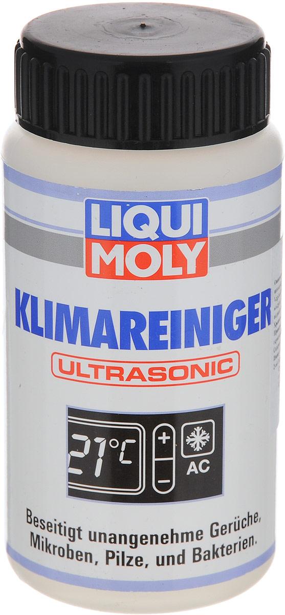Жидкость для ультразвуковой очистки кондиционера LiquiMoly Klimareiniger Ultrasonic, 100 млCA-3505Жидкость LiquiMoly Klimareiniger Ultrasonic предназначена для ультразвуковой очистки кондиционера. Она легко и быстро (около 10 минут) освобождает всю систему вентиляции легковых автомобилей, грузовиков, автобусов и другой автотехники от микробов, грибков и бактерий. Устраняет неприятные запахи в салоне автомобиля, обеспечивает подачу свежего и чистого воздуха, оставляя после применения приятный цитрусовый аромат. Очищающая жидкость создана на водной основе, не токсична и не вызывает аллергии.Товар сертифицирован.