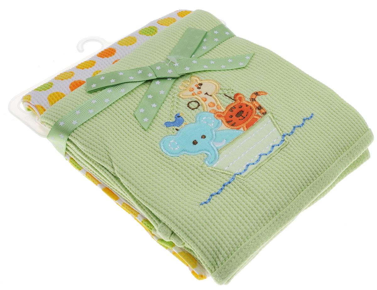 Spasilk Комплект пеленок Животные 76 х 76 см 2 шт26-91фТрикотажные пеленки Spasilk Животные подходят для пеленания ребенка с самого рождения.Мягкая ткань укутывает малыша с необычайной нежностью. Такая ткань прекрасно дышит, она гипоаллергенна, обладает повышенными теплоизоляционными свойствами и не теряет формы после стирки.Пеленку также можно использовать как легкое одеяло, простынку, полотенце после купания, накидку для кормления грудью.В комплект входят две пеленки.Предварительная стирка обязательна. Стирка при температуре не более 40 °C, гладить при температуре не выше 110 °C. Химчистка запрещена, сушка в барабане при более низкой температуре, отбеливать без хлора.