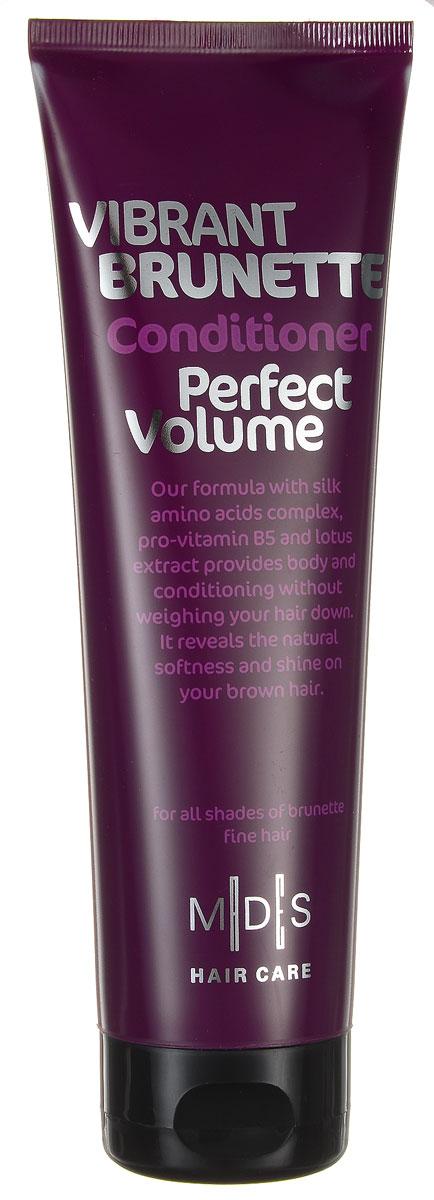 Hair Care Кондиционер для темных волос Vibrant Brunette Perfect Volume для придания объема, 250 мл724280Кондиционер с про-витамином B5 для придания объема темным волосам. Сочетание про-витамина В5, экстракта лотоса, шелкового дерева, хны и розового перца придает объем от самых корней. Аминокислоты шелка восстанавливают блеск и питают волос по всей длине, восстанавливая и придавая силу.Ультра легкая формула разделяет и смягчает волосы. Подходит для ежедневного применения. Для всех типов волос.