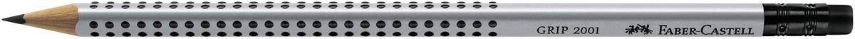 Faber-Castell Карандаш чернографитовый Grip 2001 11720072523WDЧернографитовый карандаш с ластиком Faber-Castell Grip 2001 станет незаменимым атрибутом для учебы или работы.Карандаш оснащен эргономичной трехгранной формой с запатентованной технологией GRIP, представляющей собой антискользящую зону захвата с малыми массажными шашечками.Качественная мягкая древесина карандаша идеальна для хорошего затачивания, а специальная SV технология вклеивания грифеля предотвращает поломку грифеля при падении на пол. Карандаш покрыт лаком на водной основе в целях защиты окружающей среды.