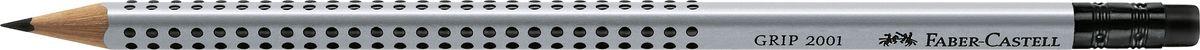 Faber-Castell Карандаш чернографитный Grip 2001 с ластиком твердость BCS-MixpackА6Faber-Castell Grip 2001 - чернографитный карандаш наивысшего качества с ластиком. Запатентованная антискользящая зона захвата Grip с малыми массажными шашечками. Эргономичная трехгранная форма. Качественная мягкая древесина для хорошего затачивания. Специальная SV технология вклеивания грифеля предотвращает поломку при падении на пол. Корпус покрыт лаком на водной основе в целях защиты окружающей среды.