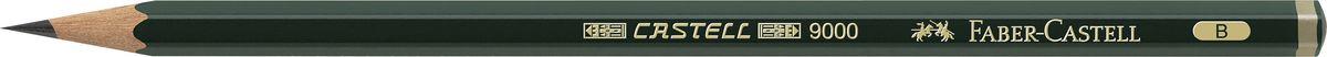 Faber-Castell Карандаш чернографитный Castell 9000 твердость B72523WDFaber-Castell Castell 9000 - шестигранный графитный карандаш наивысшего качества с долголетней традицией. Пригоден не только для письма, но и для эскизов и рисования. Покрыт лаком на водной основе в интересах защиты окружающей среды. Специальная SV технология вклеивания грифеля предотвращает его поломку при падении. Высокое качество мягкой древесины обеспечивает легкое затачивание.